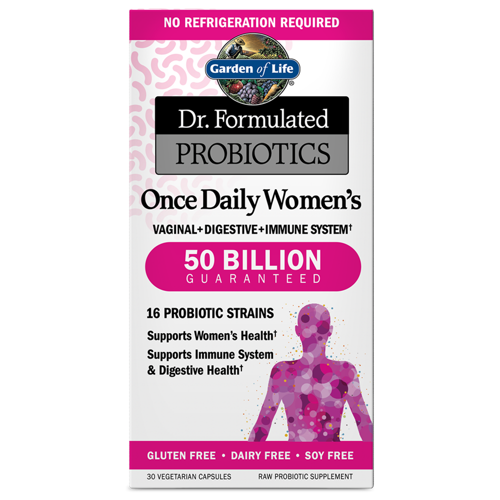 Dr. Formulated Probiotics Once Daily Women's 50 Billion CFU