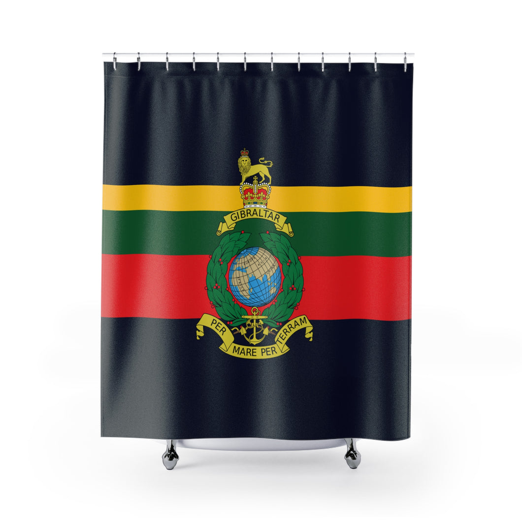 Royal Marines - Shower Curtain