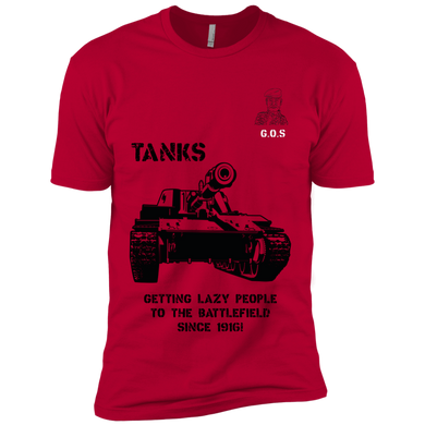 GOS - Tanks helping lazy people to the Battlefield since 1916