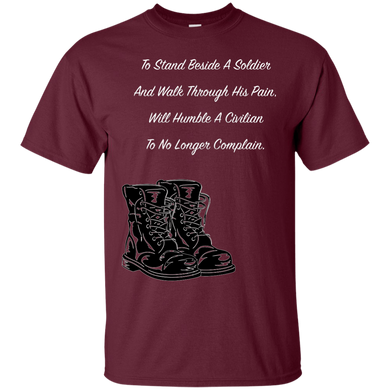 Walk In A Soldiers Pain - Tee