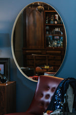Loop Oval Mirror