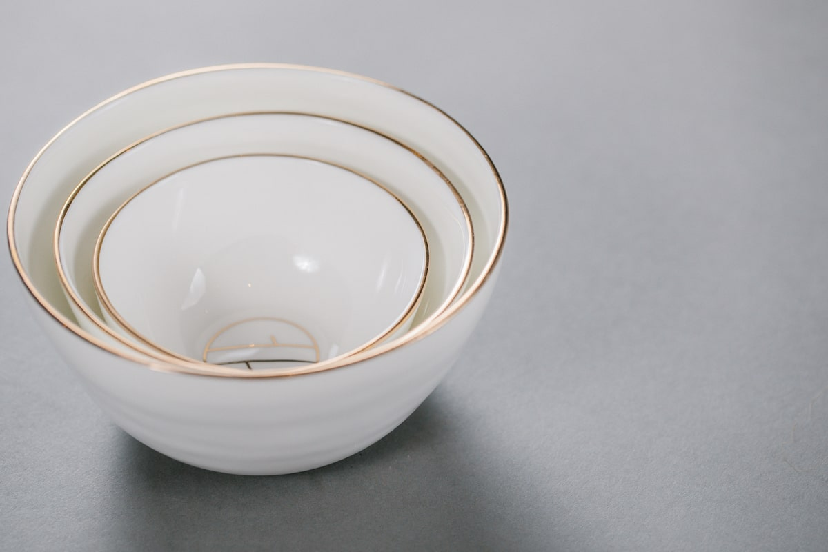 Bone China Bowl Handmade by Emma Alington for AUTHOR: the home of British-made luxury homeware