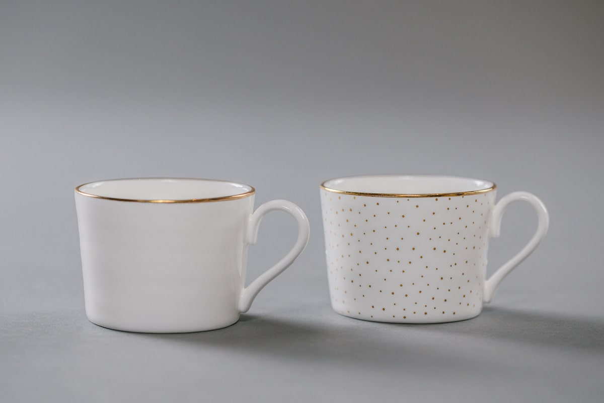 Bone China Espresso Cup Handmade by Emma Alington for AUTHOR: the home of British-made luxury homeware