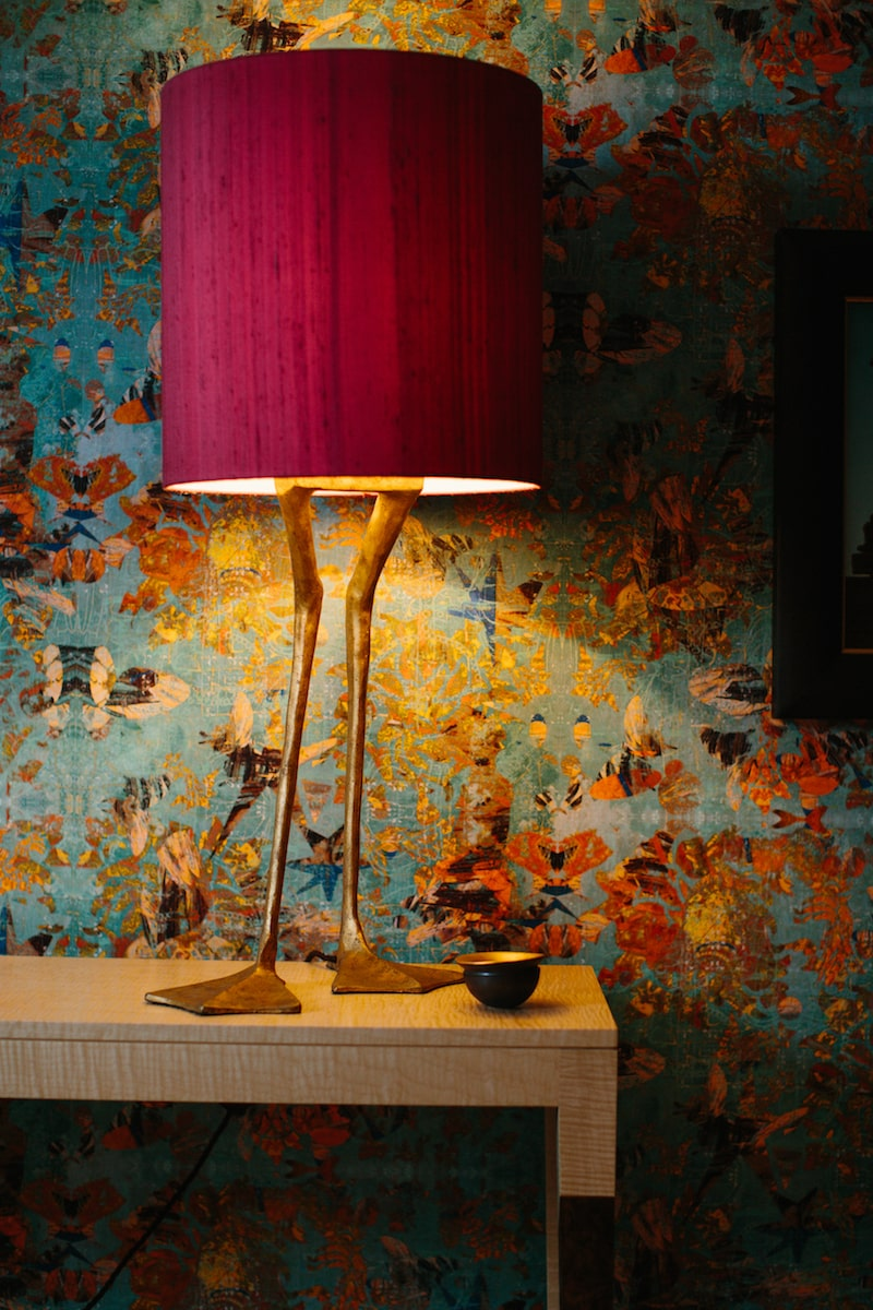 Duck Feet Lamp by Porta Romana for AUTHOR's collection of British-made luxury lighting