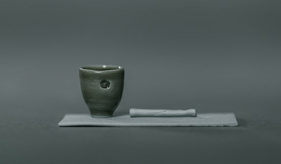 Solitary II Ceramic Sculpture by Rachel Holian for AUTHOR: the home of the best in British design and craftsmanship