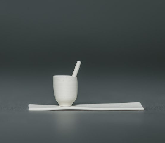 Solitary I Ceramic Sculpture by Rachel Holian for AUTHOR: the home of the best in British design and craftsmanship