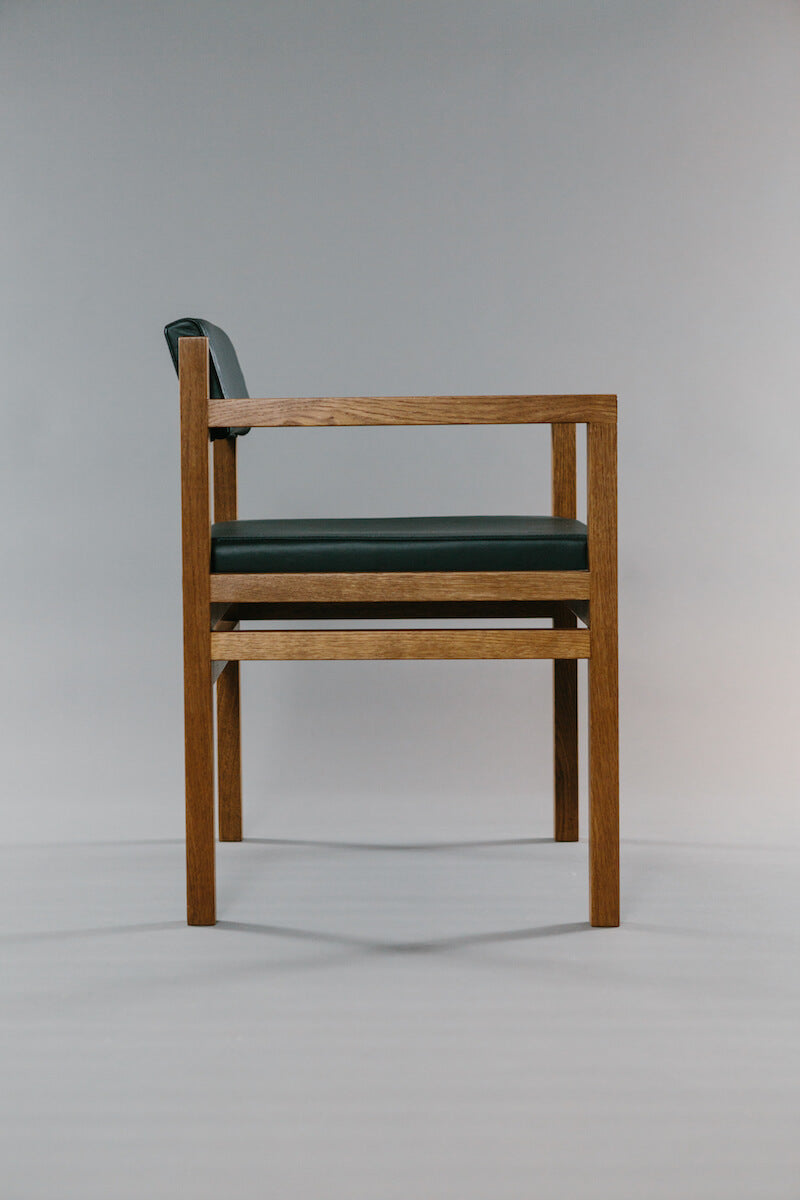 Govan Desk Chair by David Watson for AUTHOR: home of exquisite and luxury British-made furniture