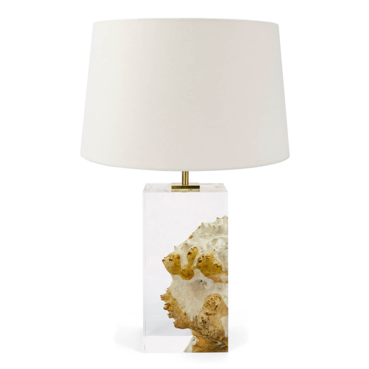 Red Mallee and Acrylic Table Lamp II by Iluka London for AUTHOR