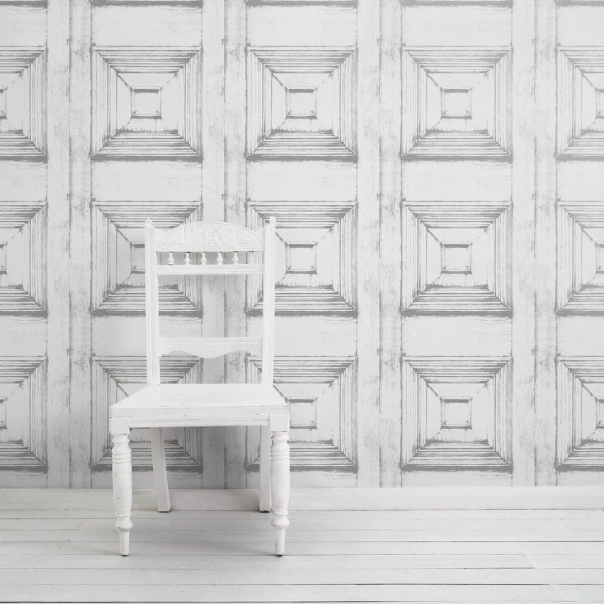 Victorian Panelling Wallpaper by Mineheart for AUTHOR's collections of British-made luxury home decor