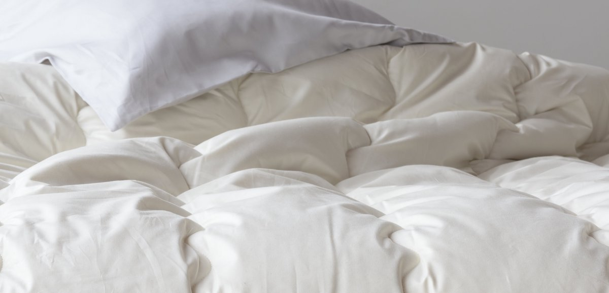 Light Summer Cashmere Duvet by AVA INNES for AUTHOR's collection of British-made luxury bedding