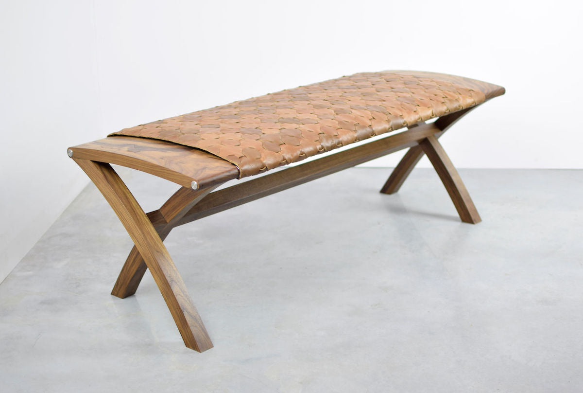 Beam Bench by Katie Walker Furniture for AUTHOR Interiors' collection of British made luxury benches