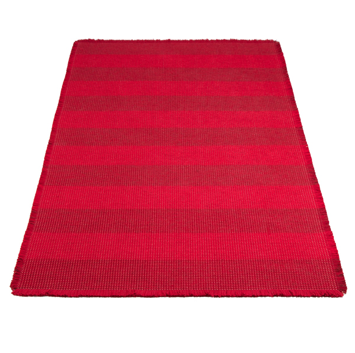 Brooklyn Crimson Rug by Roger Oates for AUTHOR's collection of British-made homeware