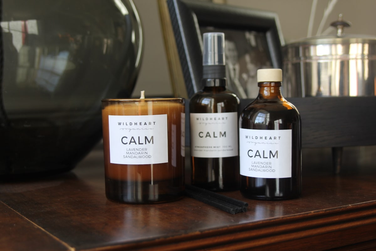 Calm Gift Set by Wildheart Organics for AUTHOR's unique collection of British-made gifts