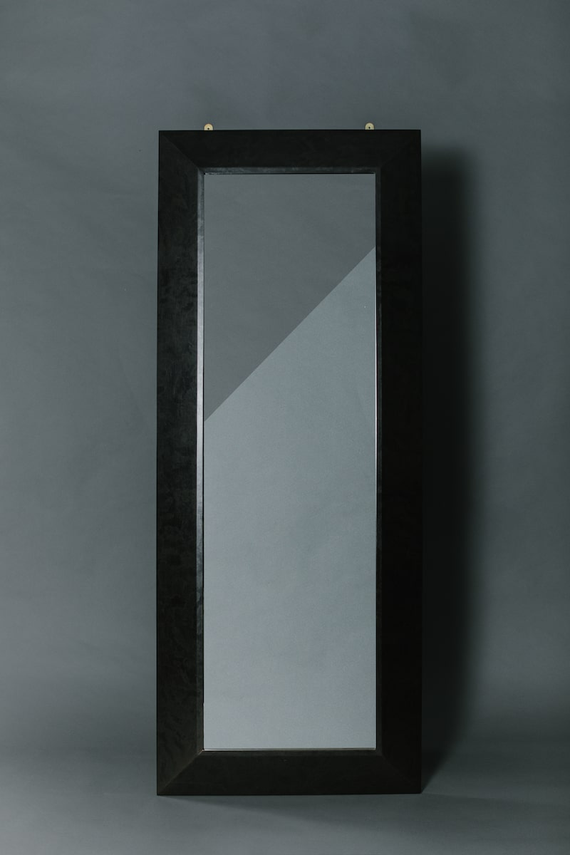 Luxury Chamfered Floor Length Mirror Hand Crafted in Britain by AUTHOR