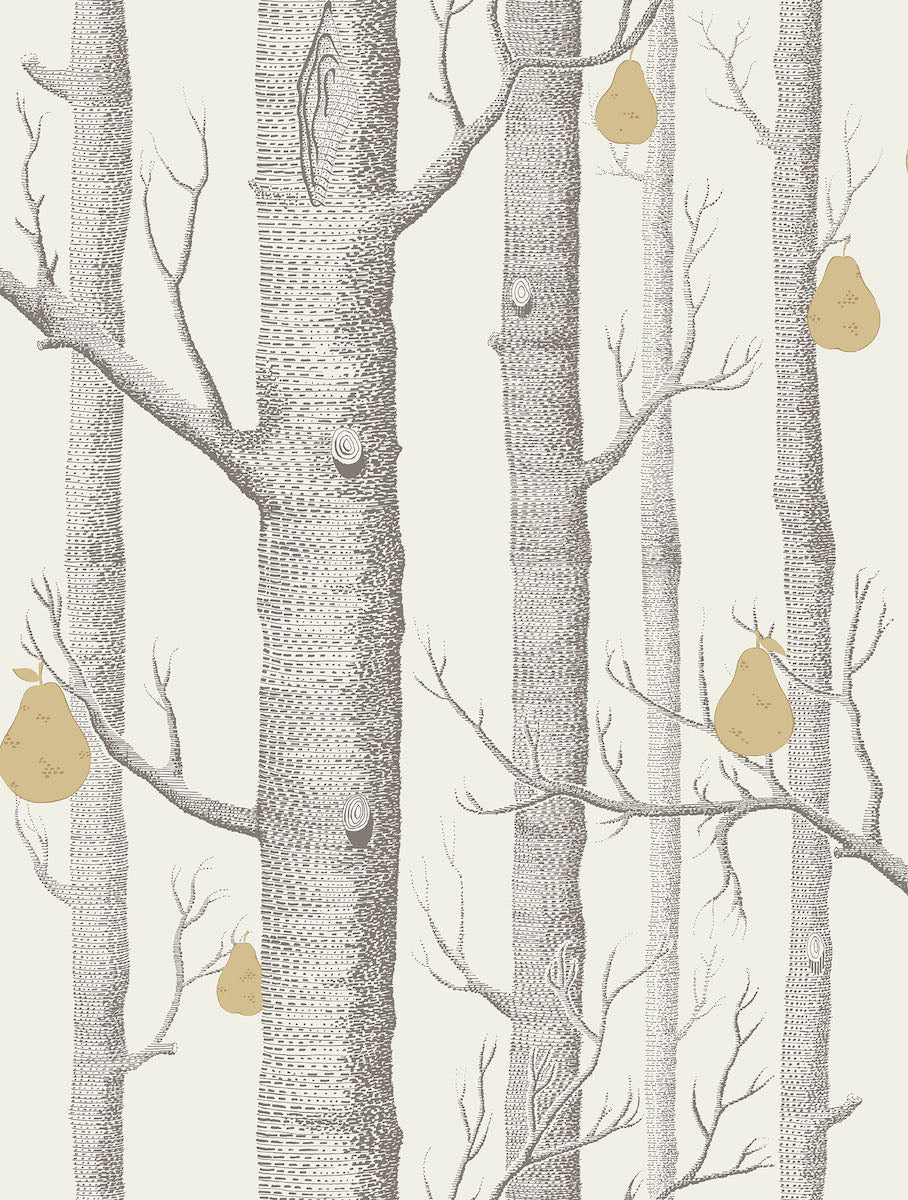 Woods and Pears Wallpaper by Cole & Son for AUTHOR's collections of luxury British-made home decor