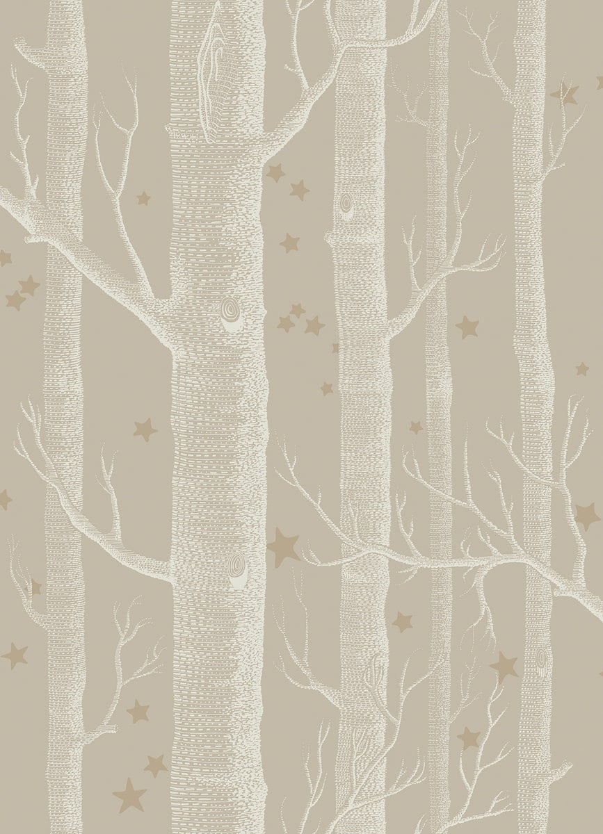 Woods and Stars Wallpaper by Cole & Son for AUTHOR's collection of luxury British-made home decor