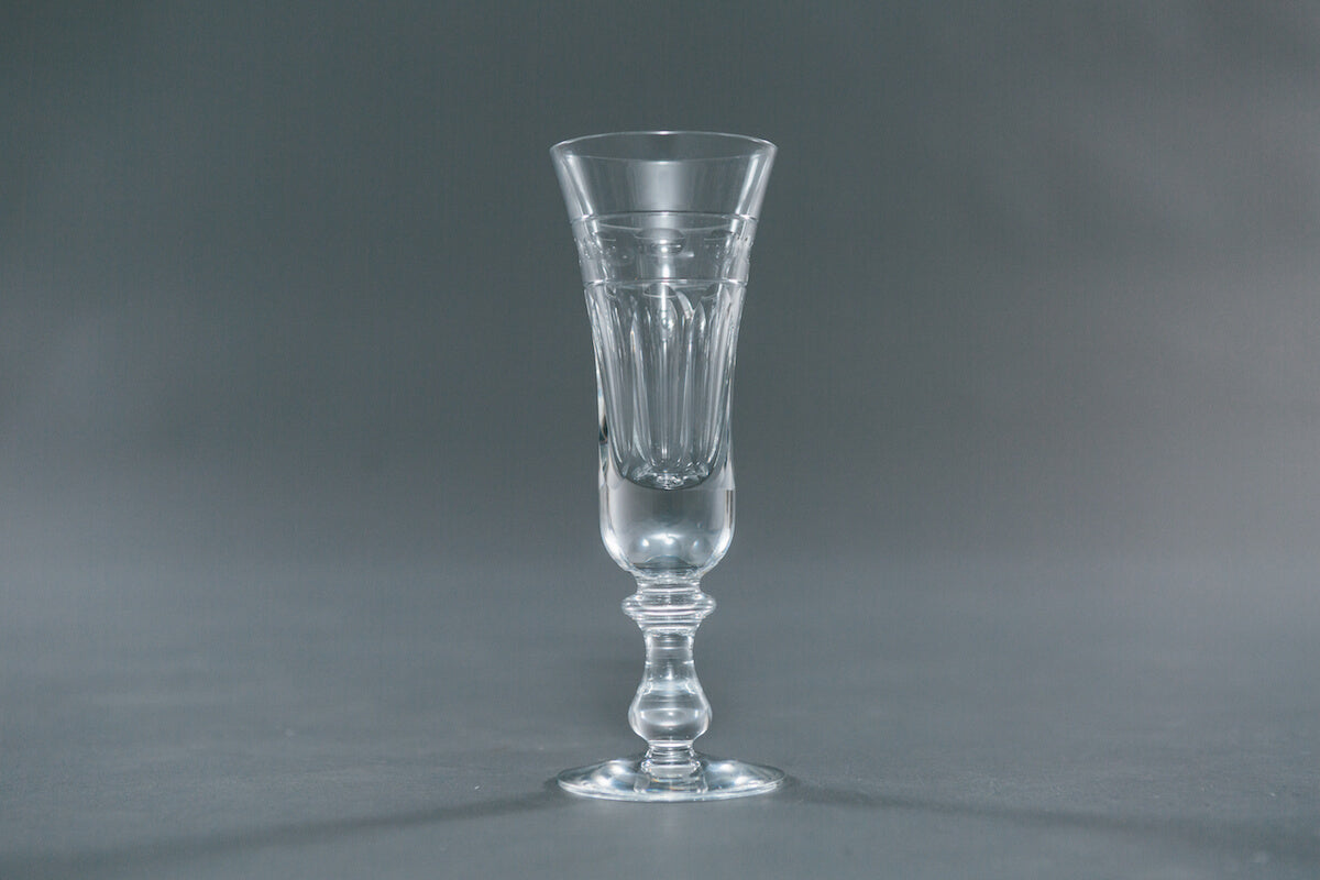 Helvellyn Vintage Champagne Flutes by Cumbria Crystal for AUTHOR