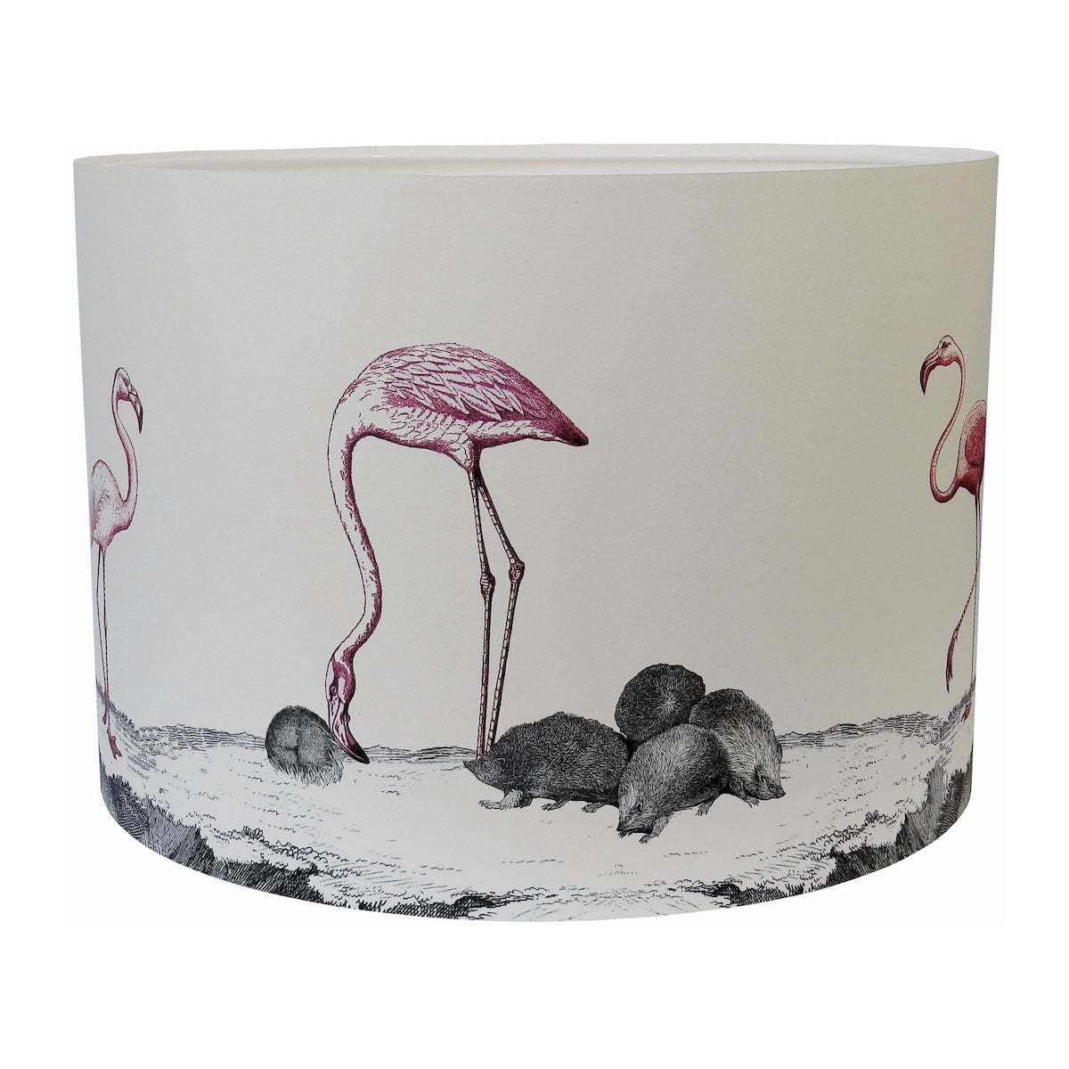 Curious Croquet Lampshade by Mountain & Molehill for AUTHOR's luxury and unique collections of British-made home accessories