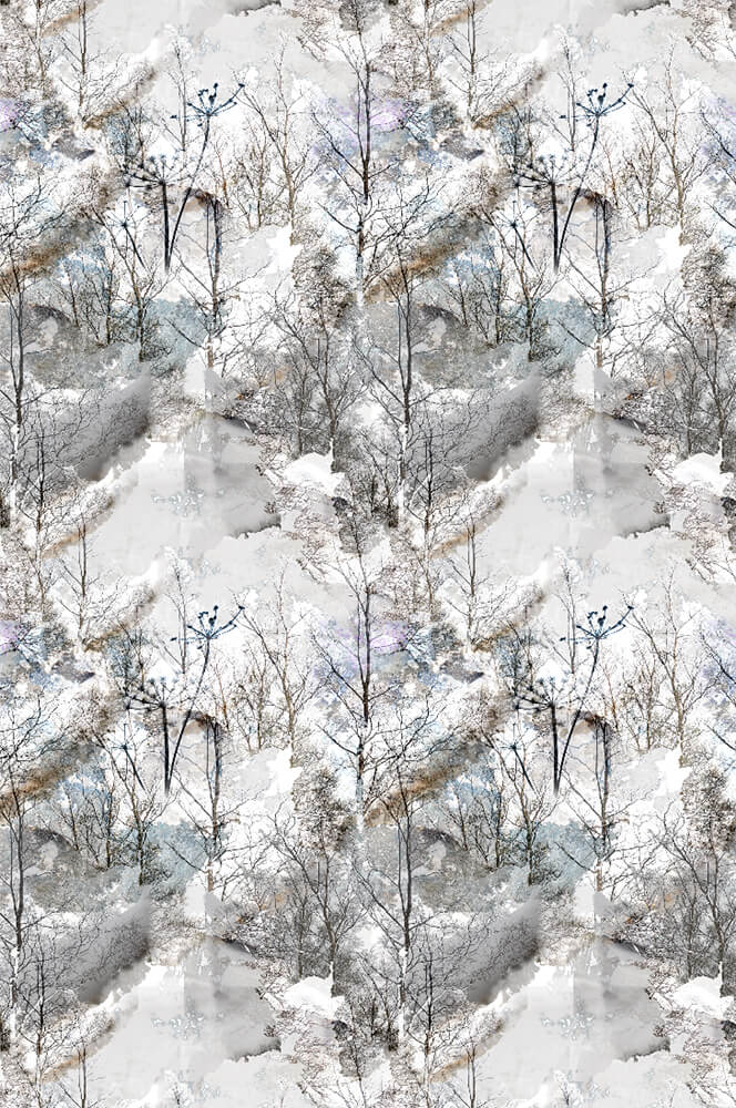 Forest Light Wallpaper by Mairi Helena for AUTHOR: home of British-made luxury home decor
