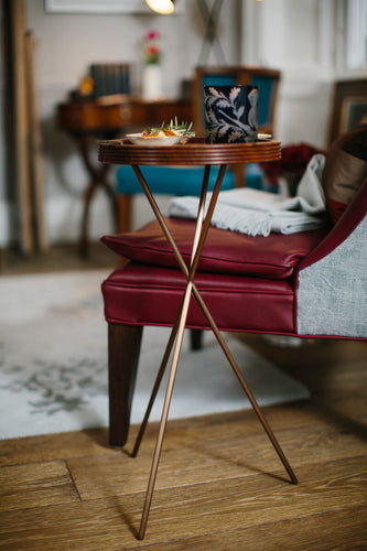 Gin Huffer Occasional Table by Conker Brown for AUTHOR: home of British-made luxury furniture