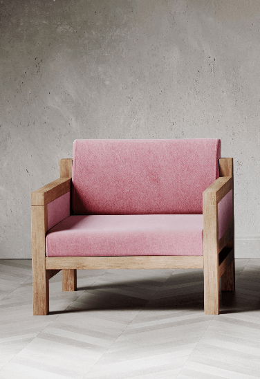 Govan Armchair by David Watson for AUTHOR's collection of British-made luxury chairs
