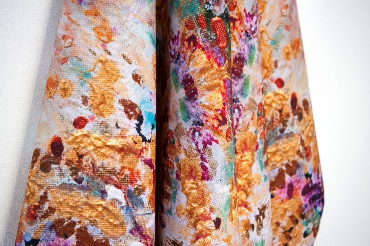 Golden Grasses Fabric made by Hatti Pattisson for AUTHOR's unique collection of British-made luxury furniture and home accessories