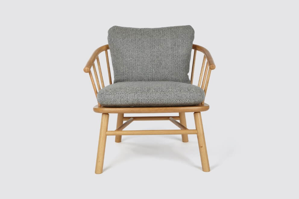 Hardy Armchair by David Irwin at Another Country for AUTHOR: home of British-made luxury and unique furniture