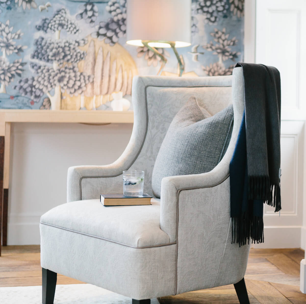 Helm Chair - Large Armchair by Charlotte James Furniture for AUTHOR