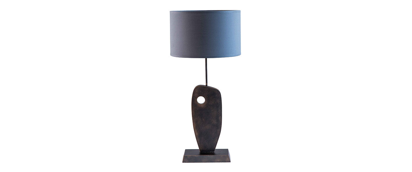 Hepworth Table Lamp handmade by Blackbird Bespoke for AUTHOR's luxury collections of British-made home accessories
