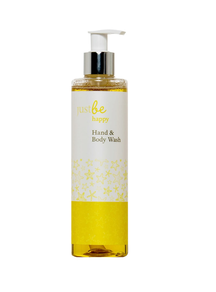 Happy Hand & Body Wash by JustBe Botanicals for AUTHOR's collections of British-made home accessories and gifts
