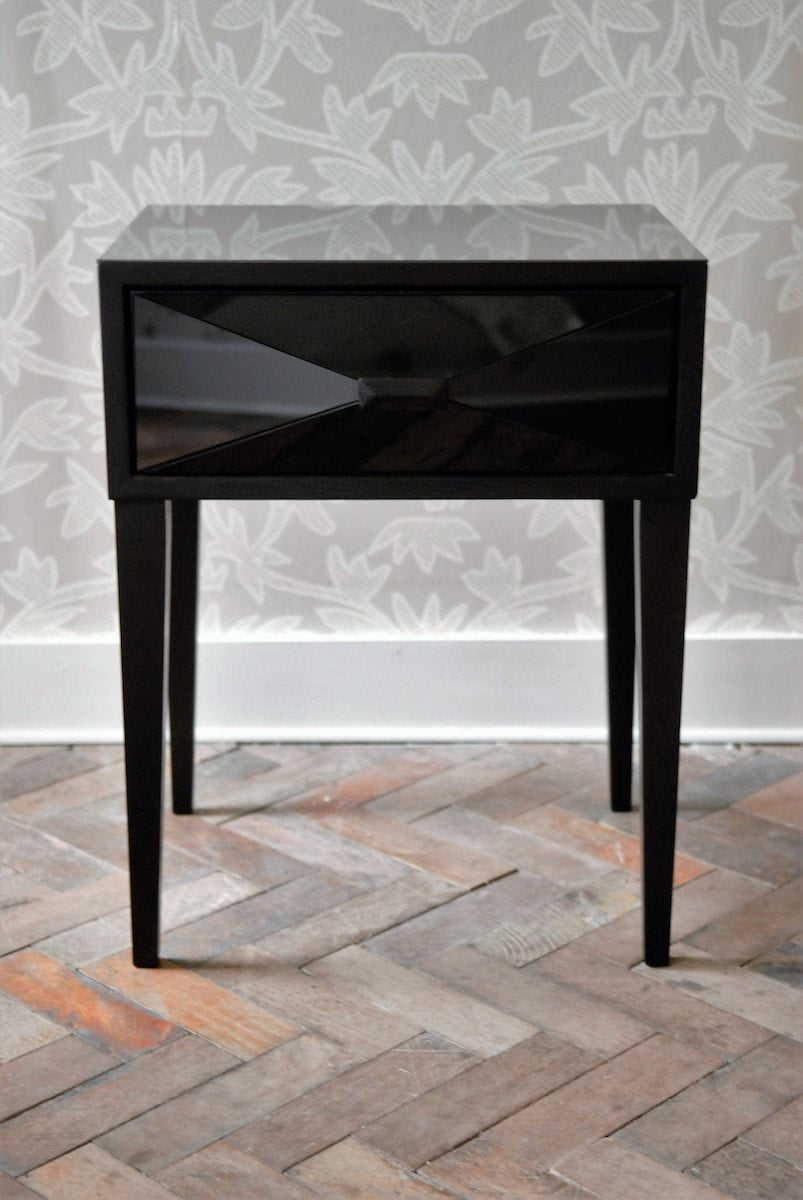 Sugarcube Side Table with drawer by Knowles & Christou for AUTHOR