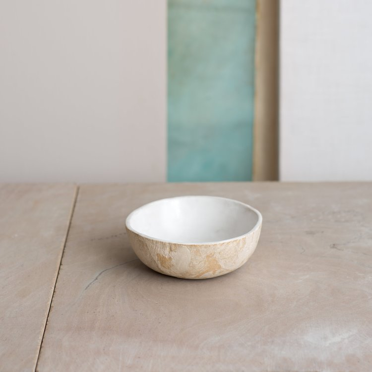 Marble Bowl by KANA London for AUTHOR's collections of unique, British-made home accessories