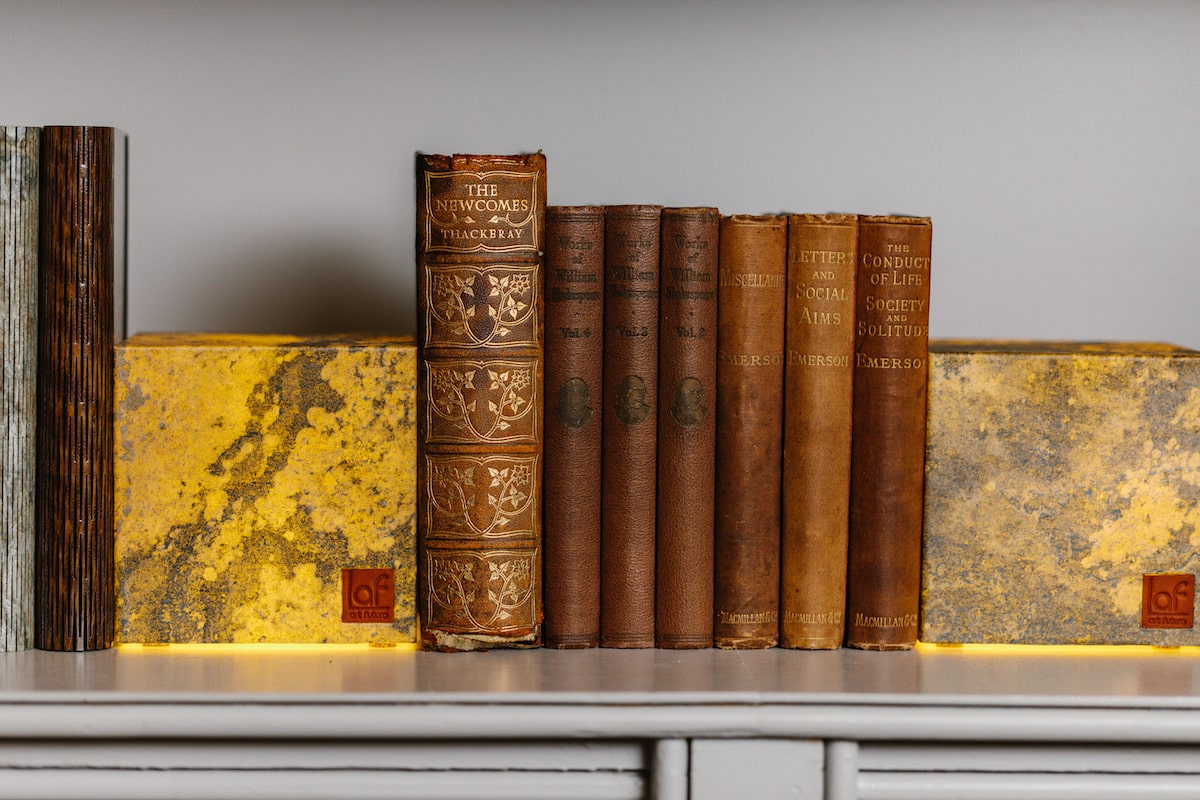 Slate Cube Lamps by Art Futuro for AUTHOR's collections of British-made unique home accessories