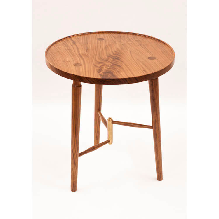 Luxe Side Table by Jan Lennon for AUTHOR's collections of British-made luxury and unique furniture