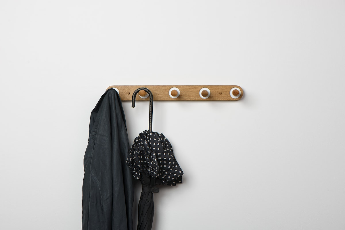 Edie Coat Rack by Mark Lowe Lighting for AUTHOR's collection of unique British-made home accessories