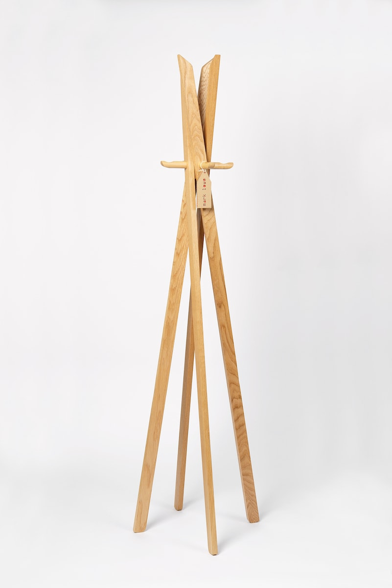 Edie Coat Stand by Mark Lowe Lighting for AUTHOR's collection of British-made unique home accessories