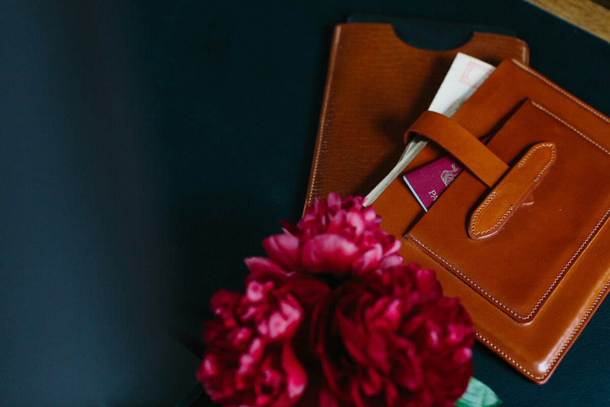 McVoyage Travel Wallet by McRostie for AUTHOR's collection of British-made luxury accessories