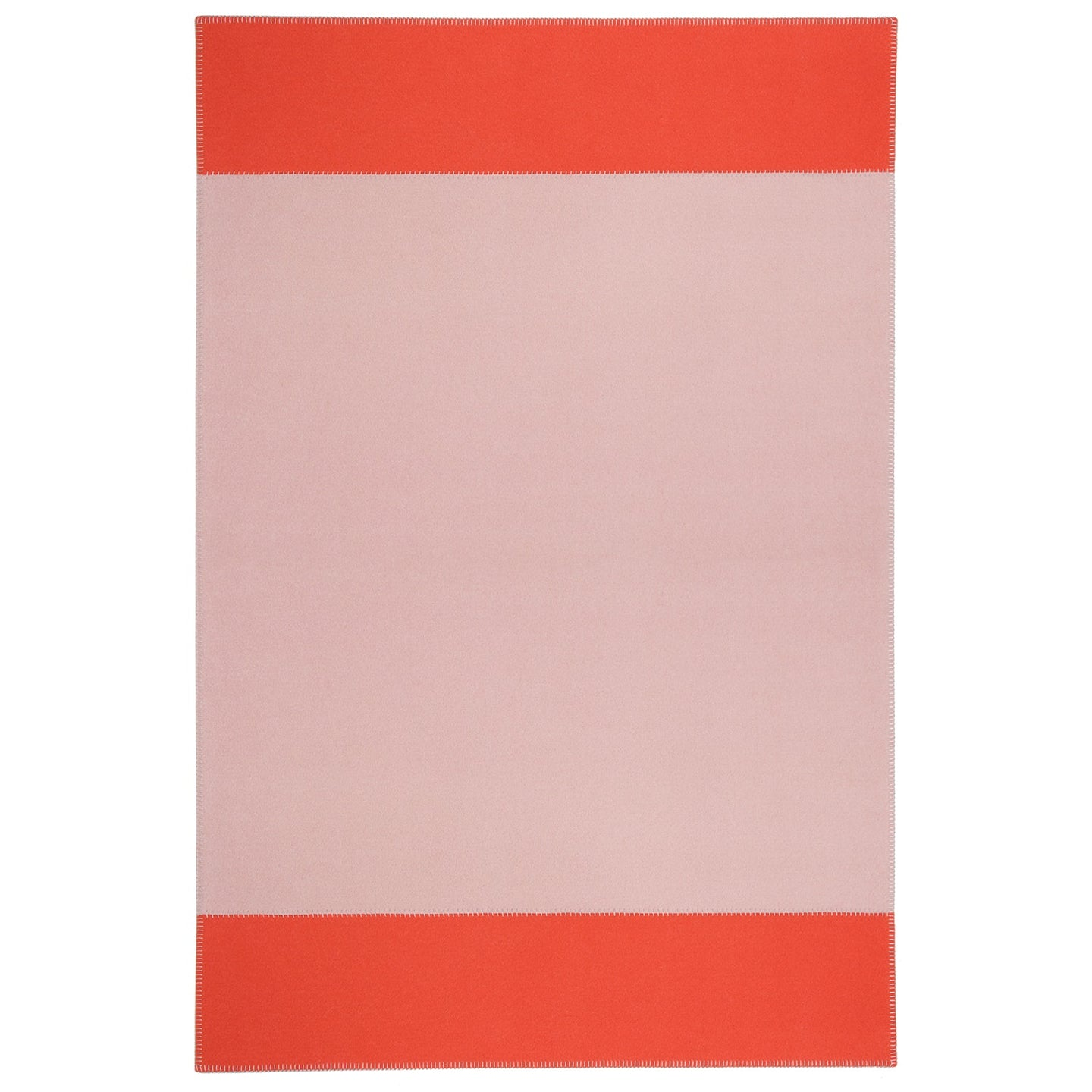Hugh Tapis Rug, Blush & Coral rug by Roger Oates for AUTHOR's collection of British-made luxury homeware