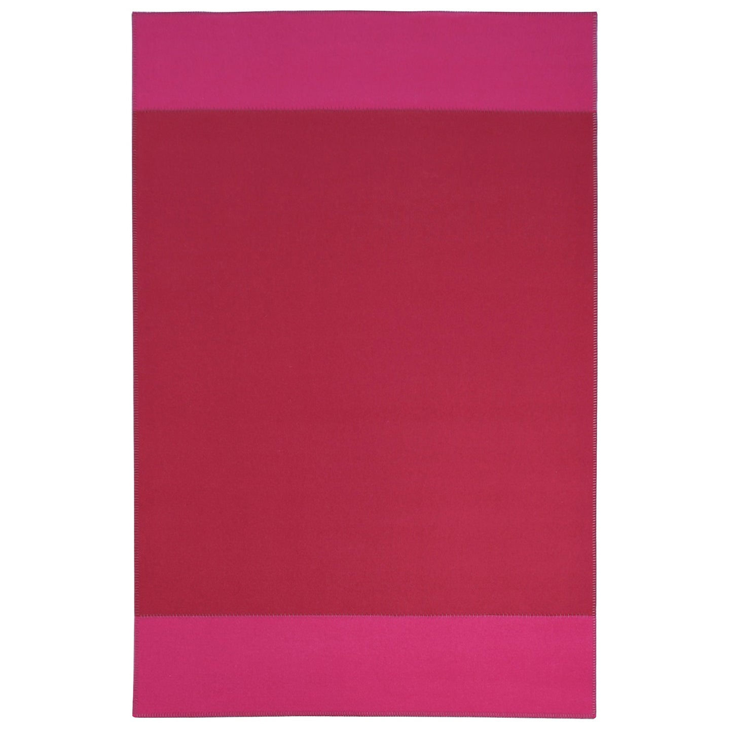Hugo Tapis Rug, Raspberry & Bright Pink rug by Roger Oates for AUTHOR