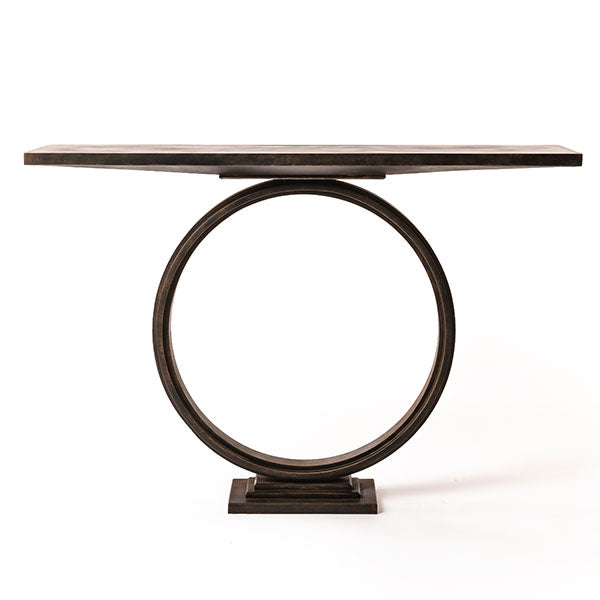Ra Console Table handmade by Blackbird Bespoke for AUTHOR's collections of luxury British-made furniture