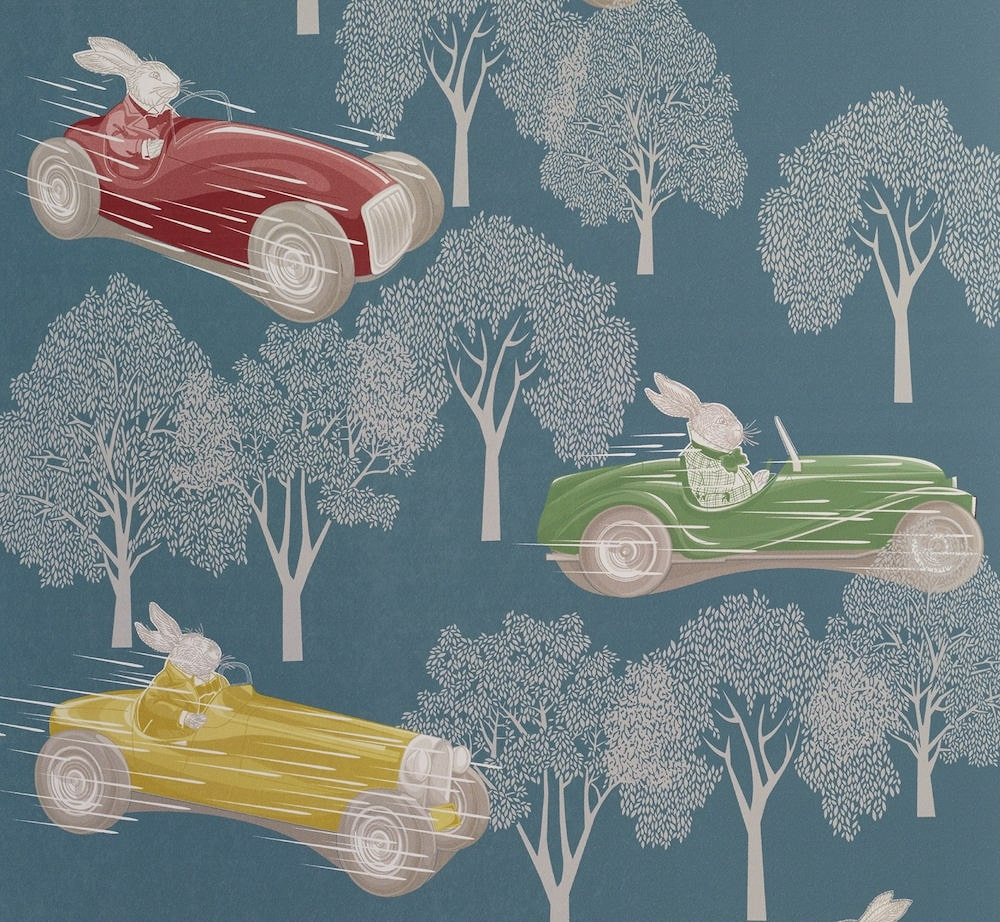 Speed Wallpaper by Hevensent for AUTHOR's collections of British-made luxury homeware