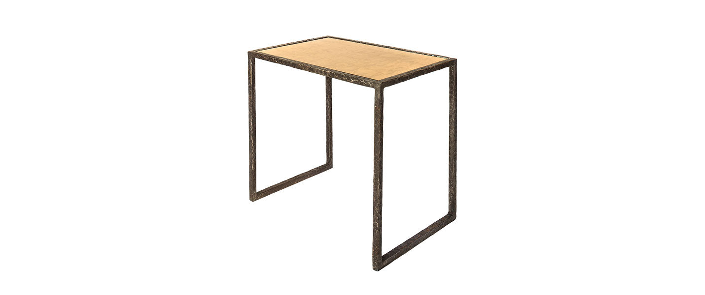 Rectangular Clavius Side Table handmade by Blackbird Bespoke for AUTHOR's collections of luxury British-made furniture