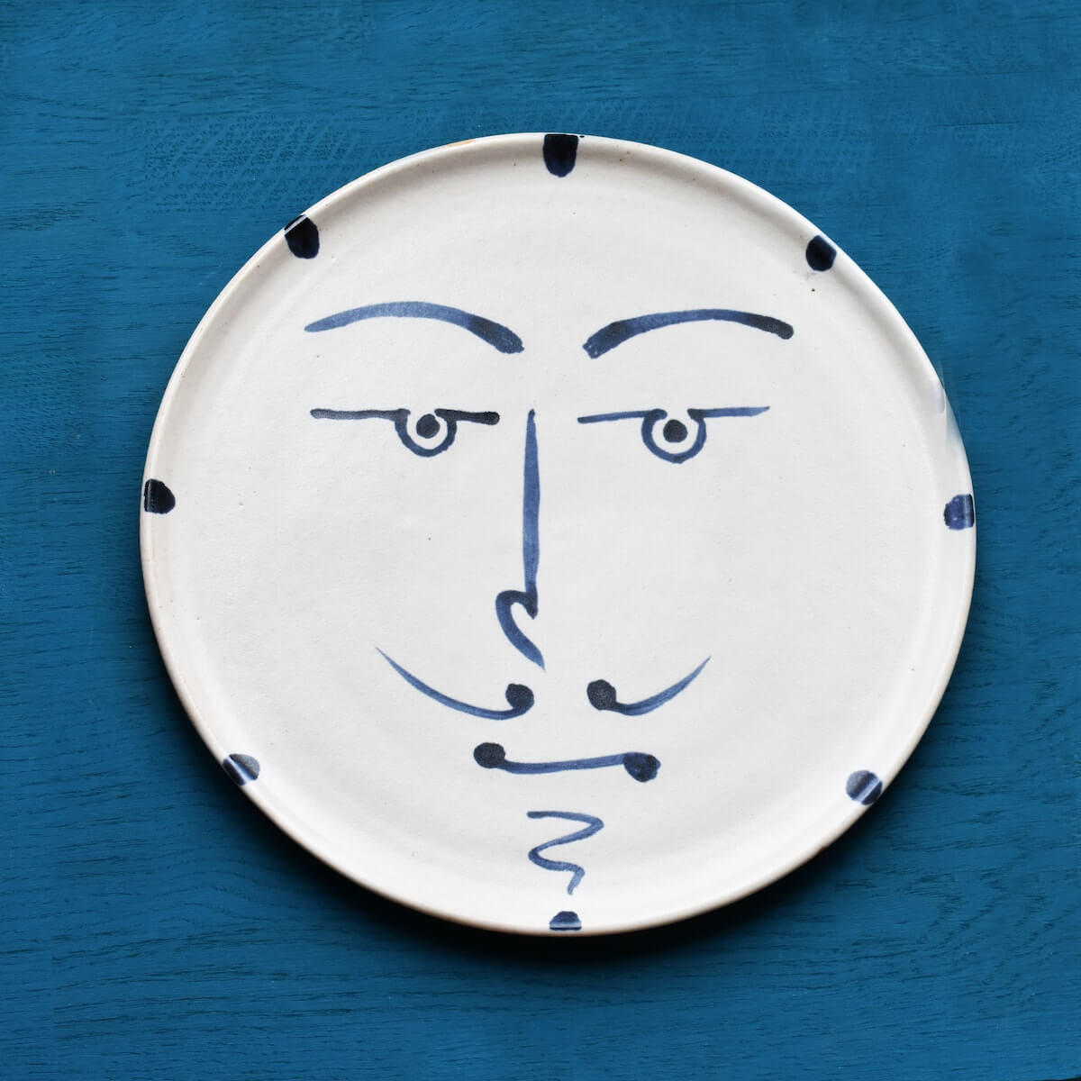 Santiago Wall plate by Kinkatou for AUTHOR's collection of British-made unique homeware