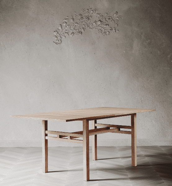 Govan Dining Table by David Watson for AUTHOR's collections of luxury British-made furniture