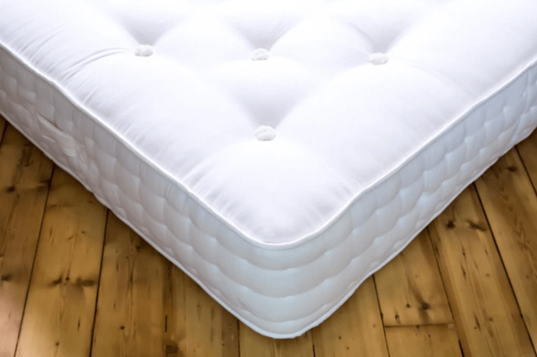 The Merida Mattress handcrafted by Glencraft for AUTHOR's collection of luxury British-made furniture