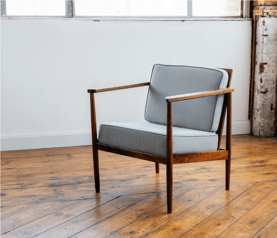 Tuiga Armchair by British furniture maker Ben Tcharny for AUTHOR's collection of British-made furniture
