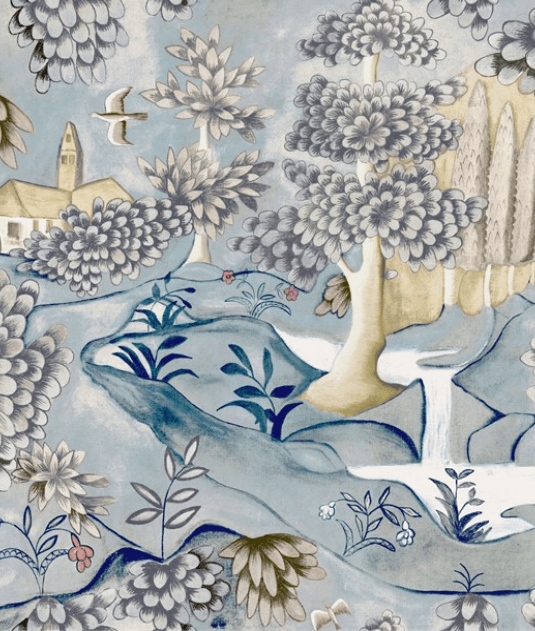Verdure Wallpaper by Zoffany for AUTHOR's collections of luxury British-made home decor