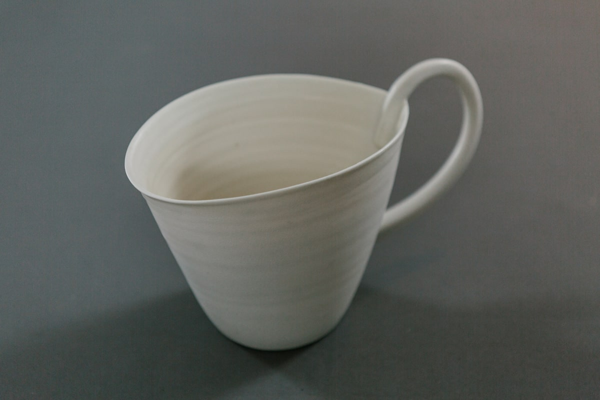White Pitcher by Jo Davies for AUTHOR's collections of unique British-made home accessories