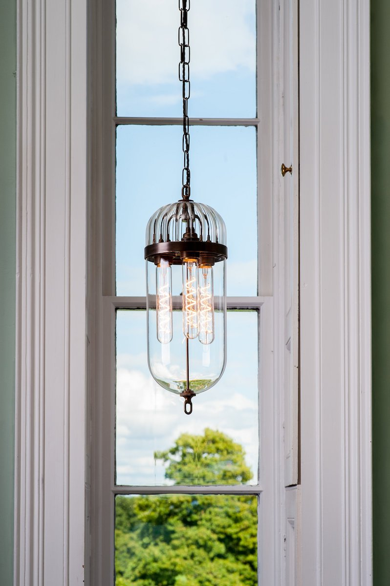 Antique Lantern in Antique Brass by Fritz Fryer for AUTHOR: the home of British-made furniture
