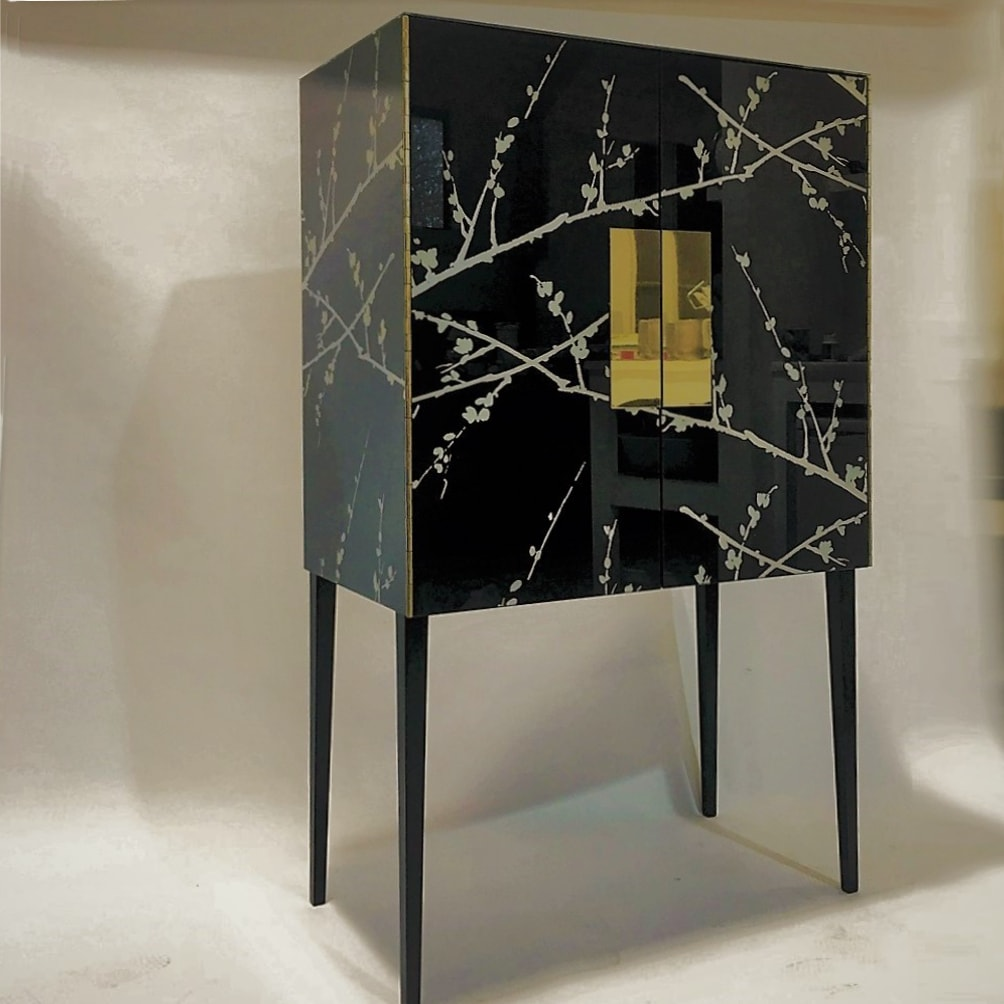 Lulu Cabinet by Knowles & Christou for AUTHOR's collection of British-made luxury furniture